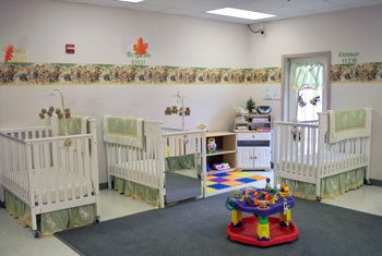 Infant day care in Carmel Indiana at Heartland Hall Child Development Center